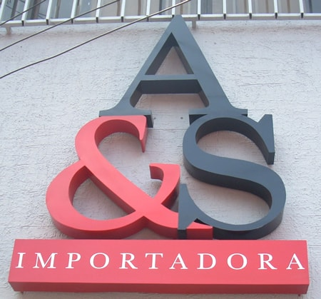 Letras Metalicas A&S